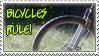 Bikes Rule - stamp by GoldeenHerself