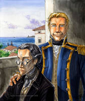 Port Mahon, 1800 by GoldeenHerself