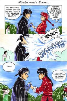 Miroku meets Ranma