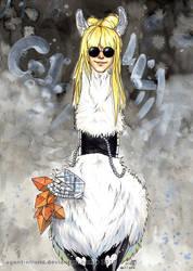 The Gaga Llama by GoldeenHerself