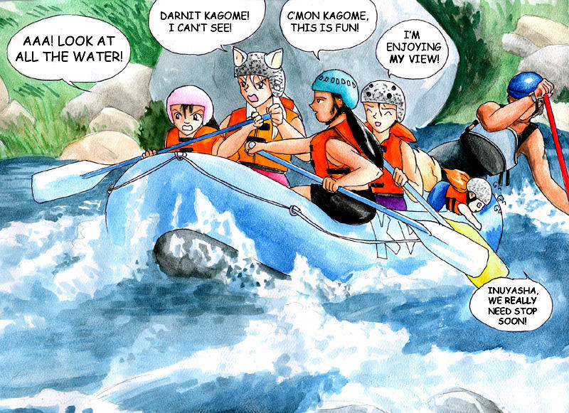 Inuyasha - the Whitewater Team by GoldeenHerself