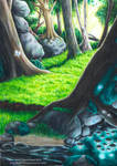Butterfly Forest by GoldeenHerself