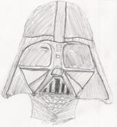 Darth Vader Portrait by Seyser