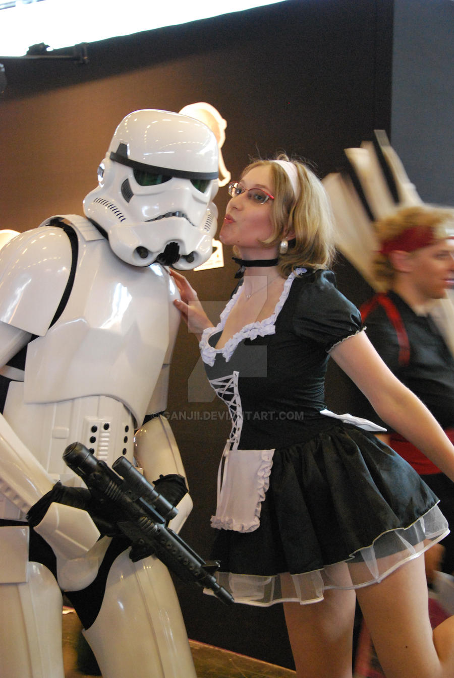 Maid vs Storm trooper