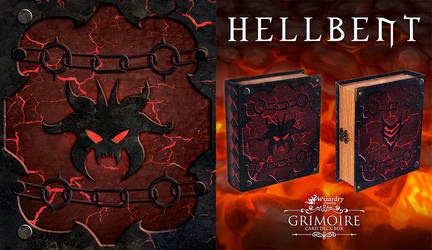 Hellbent  - Wizardry Foundry Grimoire Deck Box
