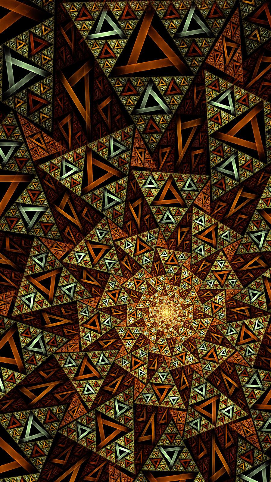 Xiuhtecuhtli's Calender Stone by JP-Talma