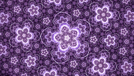 Xe Discharge Prints by Disthene-Fractal