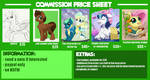 Commission Price Sheet 2017 (1 of 2)