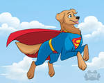 SuperDog by ItsTaylor-Made