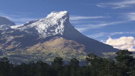 Horn Peak by ArielMultimedia