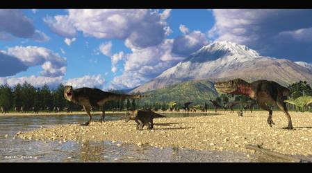 Prehistoric Hunt by ArielMultimedia