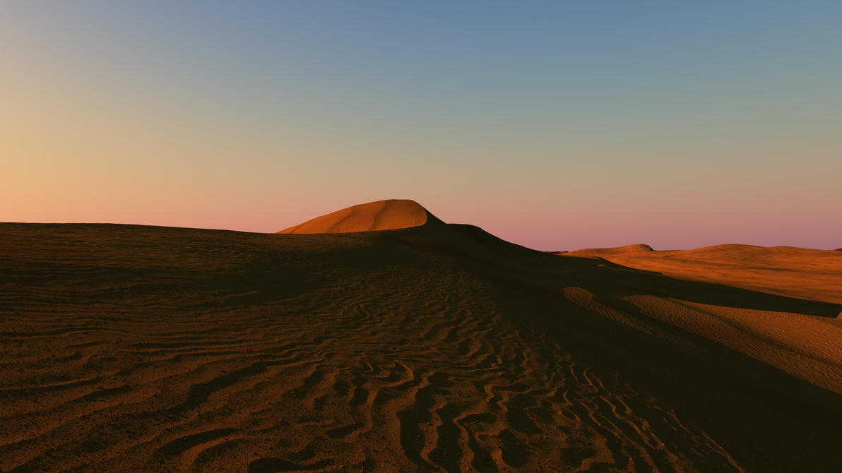 The Desert by ArielMultimedia