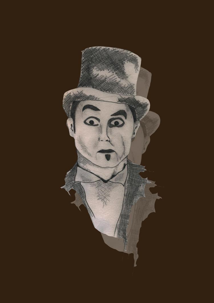 Clown man print by 92Emilyclaire