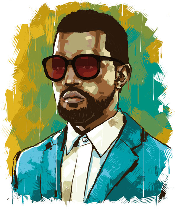 Kanye west by yuels