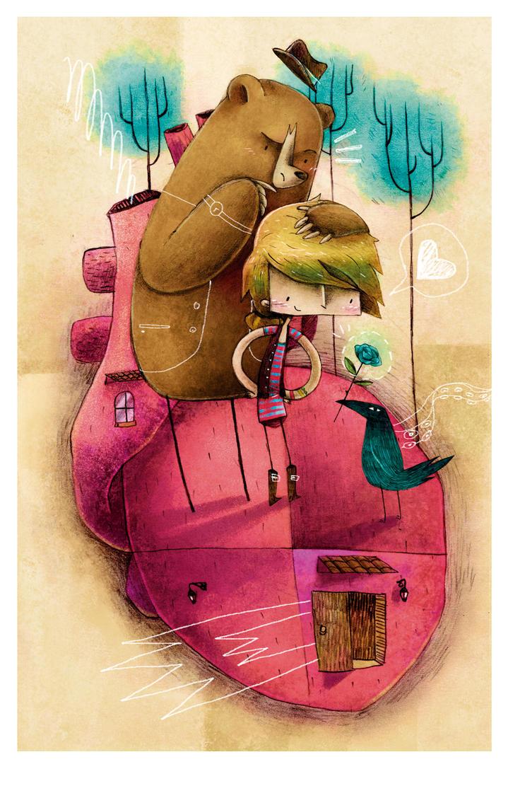 Delirio por una rosa: Les amoureux by yuels