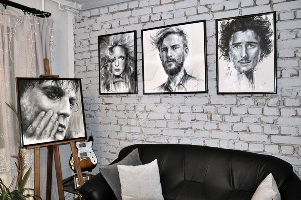 BnW PORTRAITS by JozefinaLitwin