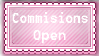 Commisions Stamp