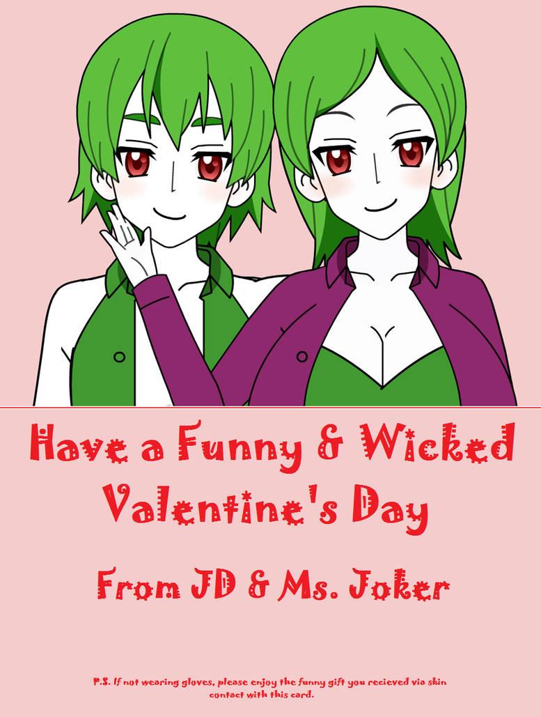 Valentine S Day Special Mrs Joker S Ending 02 By Firingwall On