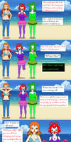 Ballerina Clown Recruitment Part 01-2 by Firingwall