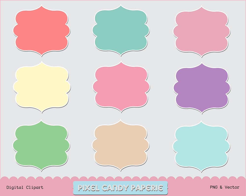 Free Doodle Frame Clip Art Images Another Shape by pixelcandypaperie ...