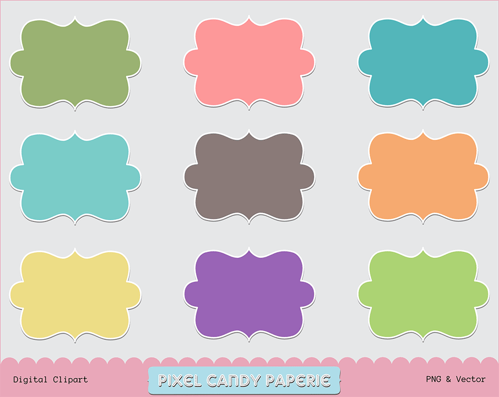 Doodle Frame Clip Art Images 3 By Pixelcandypaperie