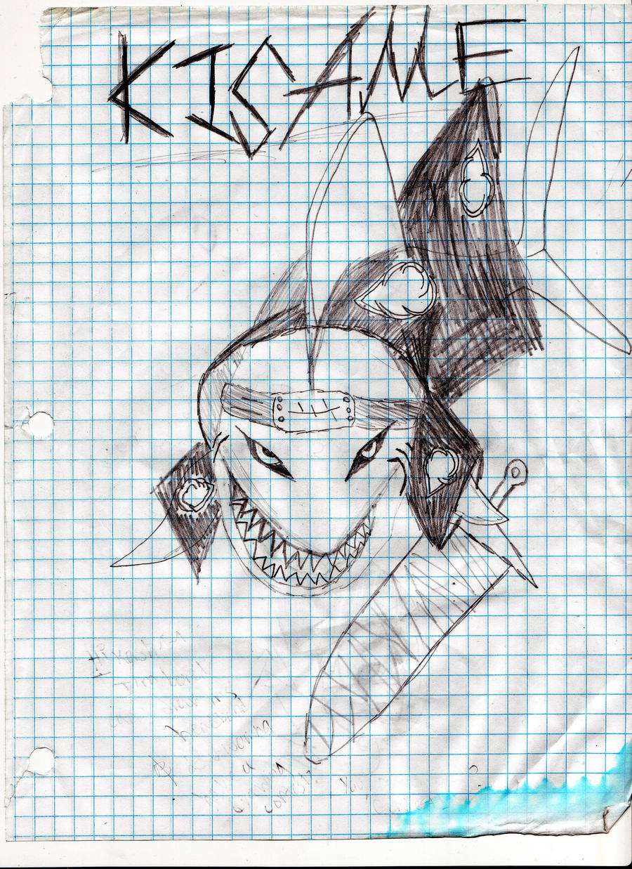 Kisame's Shark Form by DBZSSJgirl on DeviantArt