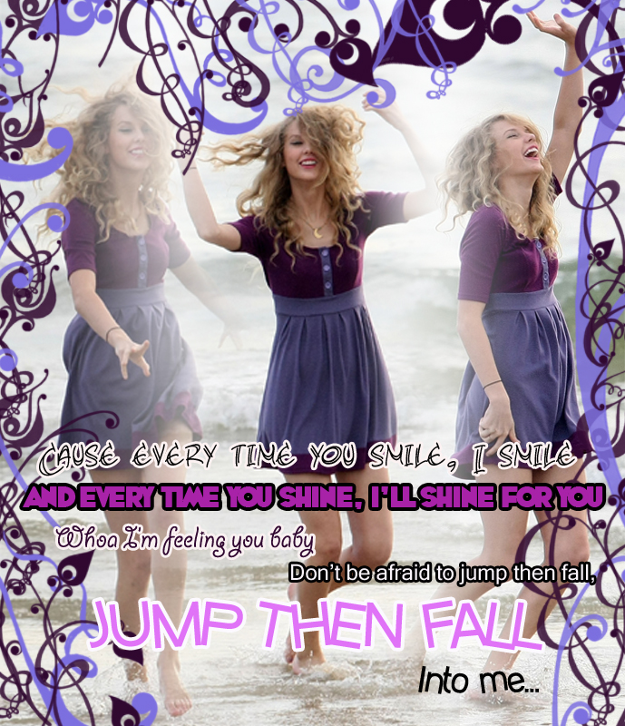 Jump Then Fall - Taylor Swift by ~LauraRepetti on deviantART