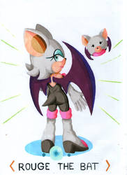 Rouge The Bat by BoreasTH