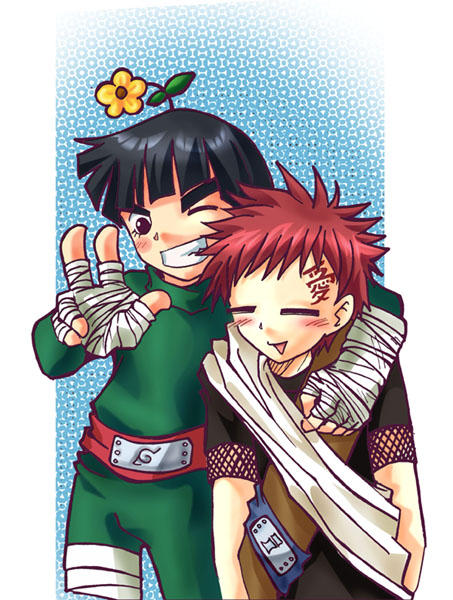 Naruto: Lee and Gaara by MooguriKlaine on DeviantArt Gaara And Rock Lee Yaoi
