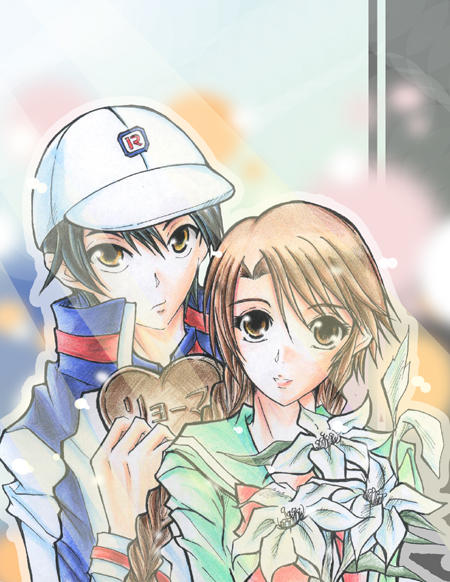 Love Month Ryoma And Sakuno By MooguriKlaine