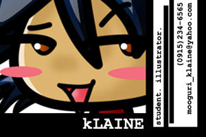 MooguriKlaine's Profile Picture