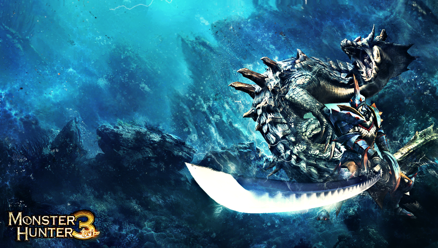 monster hunter lagia crus ps vita wallpaper by