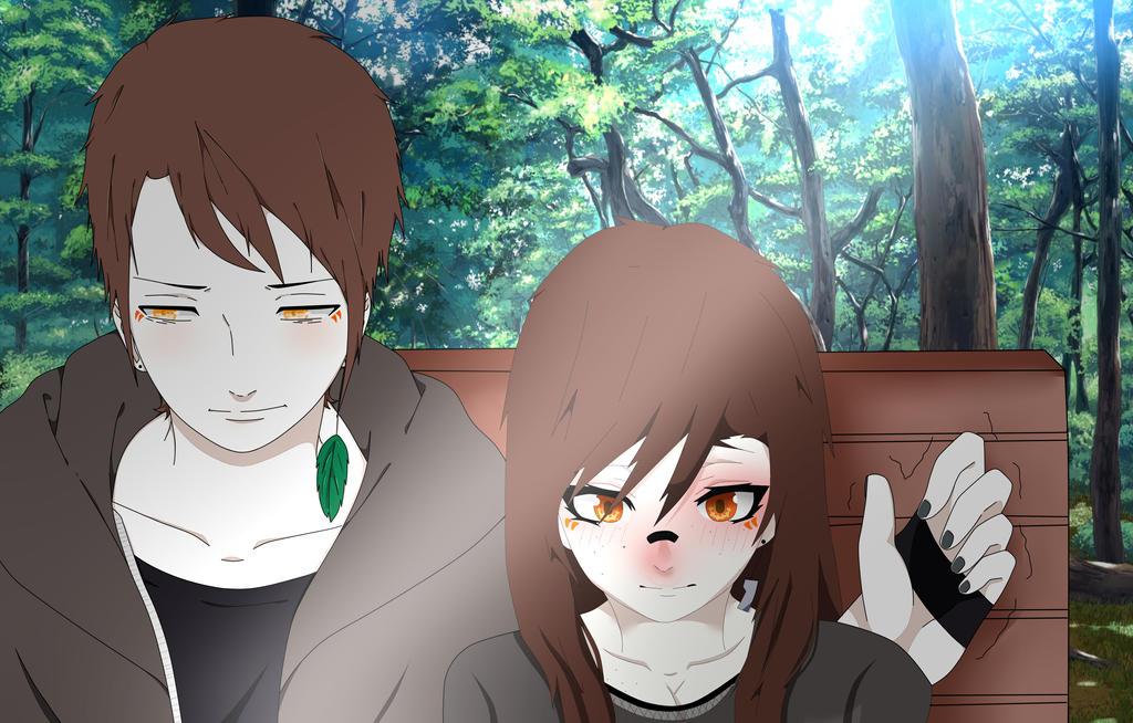 EDITFake Naruto Screenshot Mia X Kussuru Aohana By NakiNoKatsune