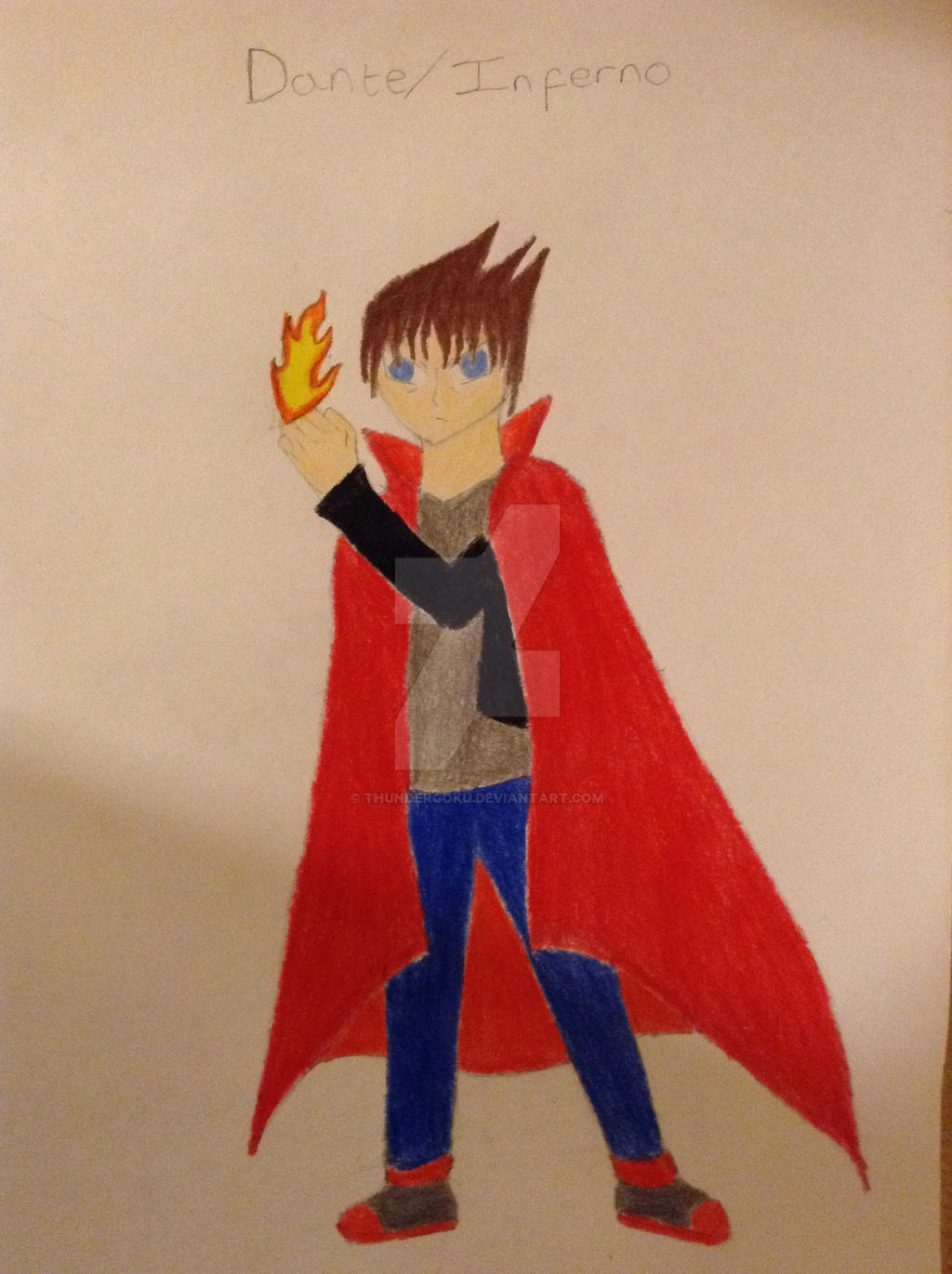 Last Days of Heroes Character: Dante/Inferno by ThunderGoku