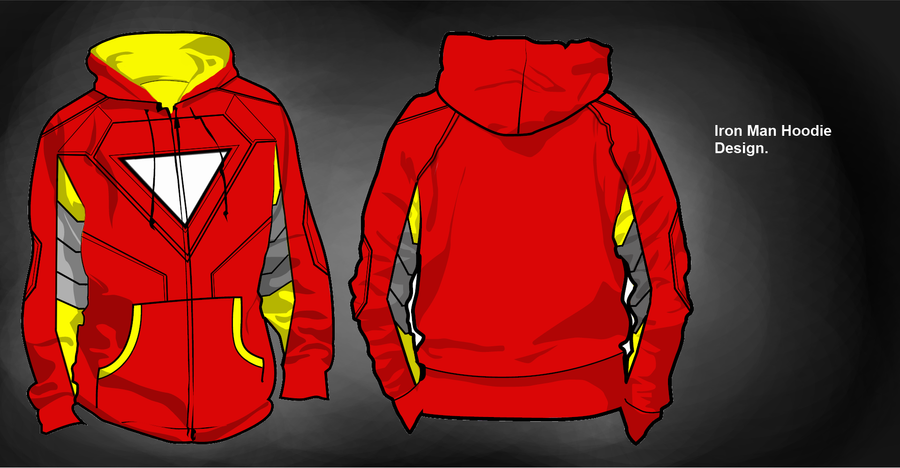 iron man hoodie design by biscuits and jam on deviantart