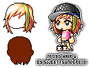 Mixed Hair 4 by SweetTsunderexD