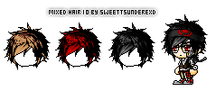 Mixed Hair 10 By SweetTsunderexD by SweetTsunderexD
