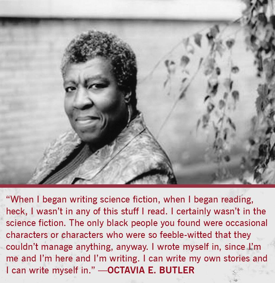 Octavia Butler-quote by PinkyMcCoversong