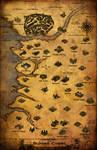 Baldur's Gate Path of the Lost Odyssey Alpha Map