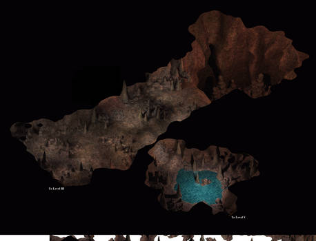 Cave Complex 01: Level IV Prototype-Map