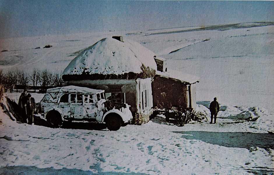 Italian headquarters in Russia Winter Camo Colour by withinamnesia