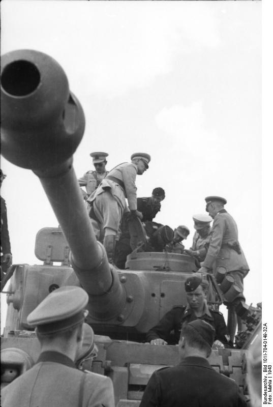Tiger I (161) Inspected by Turkish Officers - 1943 by withinamnesia