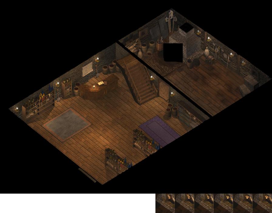 Baldur's Gate Arms and Armour Emporium(Level01)-++