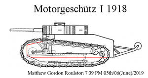 Gunther Burstyn Motorgeschutz I 1918+