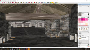 Duskwood Dungeon Entrance (W.I.P. Lower Chamber)