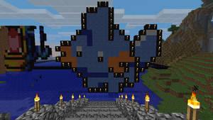 Minecraft Mudkip by BrittanysDesigns