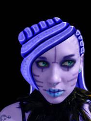Alien Girl by BrittanysDesigns