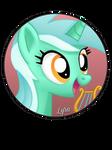 Lyra Heartstrings Pin