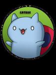 Catbug Pin