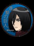 Mikasa Ackerman Pin